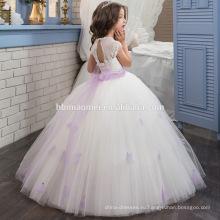 Наиболее популярные Принцесса тюль кружева свадебное платье день рождения платье для девочки