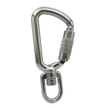 Werkzeug Tether Swivel Aluminium 8kN Sicherheitshaken