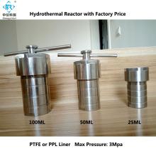 Reator de autoclave de síntese hidrotérmica de laboratório 100ml