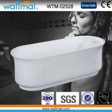 Высококачественная тонкая переливчатая ванна для ванны (WTM-02528)