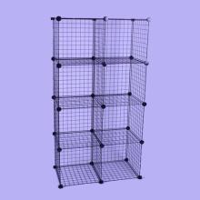 Organisateur de stockage de matériel en métal, peut stocker des vêtements, jouets (FH-W0030)
