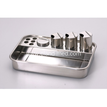 Stainless Steel  Treatment Medical Hospital Emergency Tray  Pill Dispensing Tray