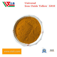 Inorganic Powder Pigment G810 Ferric Iron Oxide Yellow for Rubber Coating, Micronized Iron Oxide Yellow for Paint Coating and Plastic