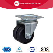 2 Inch 80Kg Plate Swivel PA Machine Caster