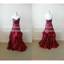 Pick Up Floor Length Evening Dress with Sequins