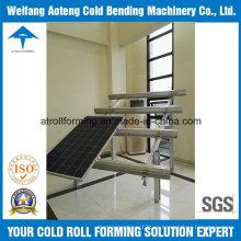 Rollo de soporte solar que forma la máquina