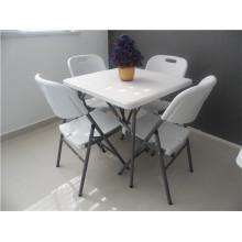 80 см Пластиковый складной стол Hotsale Square для использования на свежем воздухе