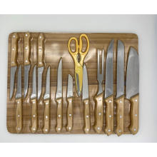15pcs cuisine kinfe set