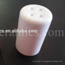 Tapa de cerámica de alúmina para el terminal aislante de lámpara de calefacción.