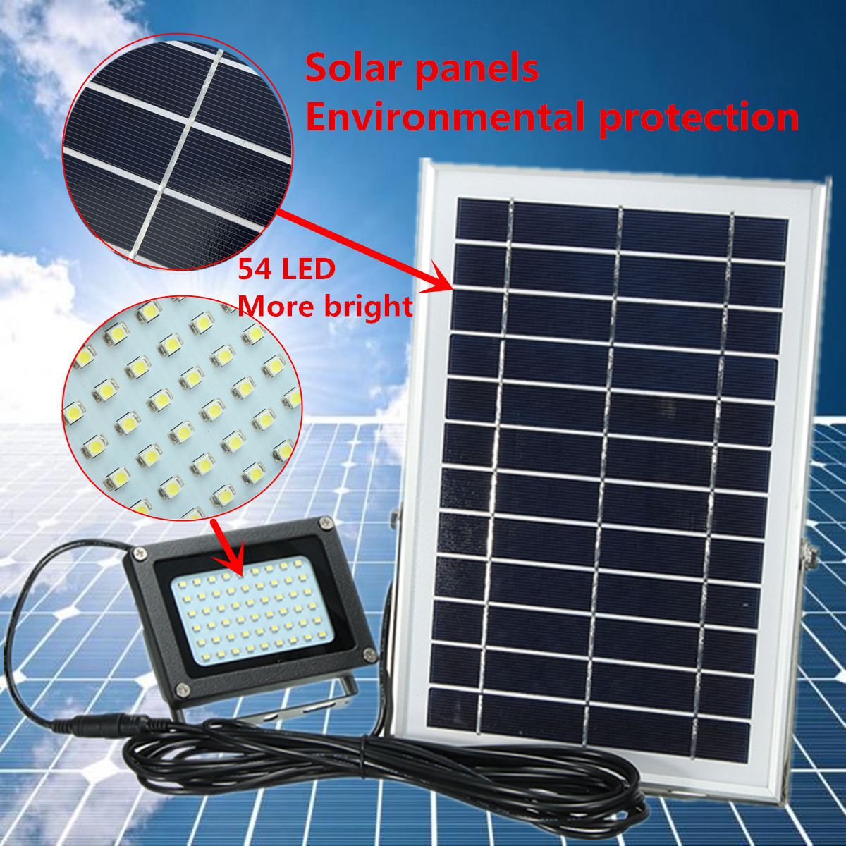 solar panel lighting