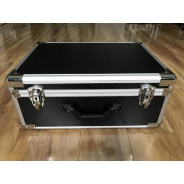 Maleta de transporte de alumínio à prova d'água para instrumentos
