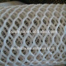 Filet en plastique blanc (l'usine)