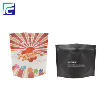 Aluminum Foil Stand Up Coffee Tea Zipper Bag