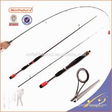 SPR047 graphite canne à pêche blanc canne à pêche weihai oem filature pôle