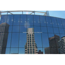 Commercial Mall Aluminium versteckte Rahmen Vorhang Wandsysteme