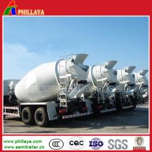 Reboque do petroleiro do misturador do caminhão do cimento / máquina / tanque de mistura