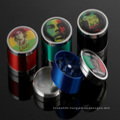 Handsome Face Smoking Crusher Metal Herbel Grinder for Cigarettes Accessories (ES-GD-003)