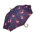 Flamingo new products 2018 good quality Heat Transfer Print beautiful umbrella
