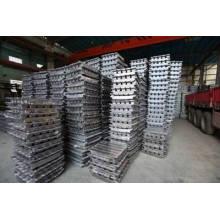 Lingot de plomb pur 99,9%, lingotes de plomb antimoine, lingotes de haute qualité