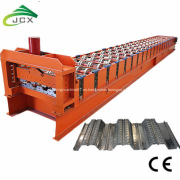 Rollo de la hoja del Decking del piso que forma la máquina