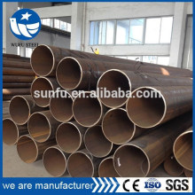 Carbon welded ASTM A53 A500 Gr.B LSAW steel pipe in China