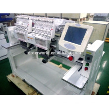 Double head topwisdom touch screen hat embroidery machine Dahao software