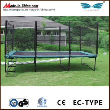 High Quality Fitness Bungee Rectangular Trampoline for Sale