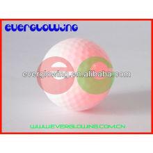 balles de golf illuminées à led rouge vente chaude 2016