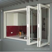 AS2047 Wholesale Aluminum Veranda Bi Folding Glass Door