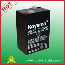 Preço por atacado Bateria de ácido de chumbo 6V 4ah