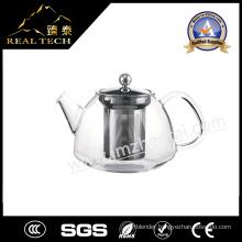 Hot Sale Clear Borosilicate Handmade Glass Teapot