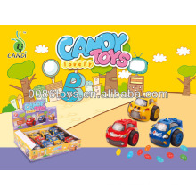 mini car watch candy toys