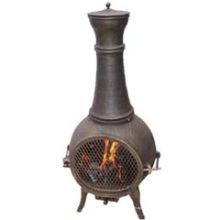 Fundido de hierro fundido de aluminio Chiminea (FSL019) Hogar de fuego
