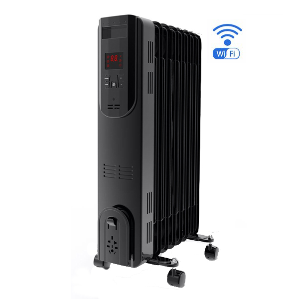 Digital oil heater