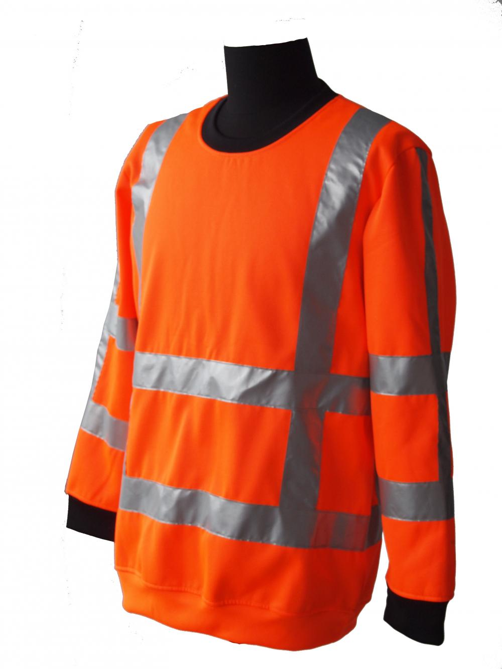 reflective safety work shirt