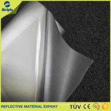 Silbernes reflektierendes Wärmeübertragungs-Vinyl mit PET-Klebefilm, um Position zu finden