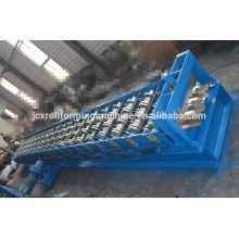 Máquina de piso de cubierta de acero de color, máquina de formulario de rollo de cubierta de piso