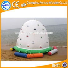 Parede inflável da escalada da água dos miúdos para a venda