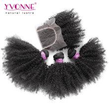 Оптовые Бразильские Афро Кудрявый Наращивание Волос