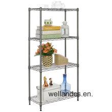 Chrome Home Decorar Storage Wire Shelf (LD7535180A4C)