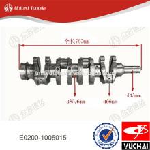 Virabrequim do motor Yuchai E0200-1005015 para YC4E