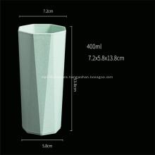 Octagon Shape Colorful Plastic Cup Degradable Cup