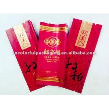 Saco de embalagem de chá descartável de plástico composto de papel
