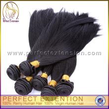 Дешевые бразильский волос ткать, бразильский черные волосы булочка