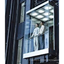 Квадратный панорамный лифт со стеклянной кабиной лифта