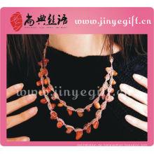 Modeschmuck Handmade Charming Style Multi Kette Halskette