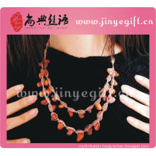 Costume Jewelry Handmade Charming Style Multi Chain Necklace