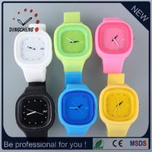 Cadeau Montre de poignet Montres de Noël Bracelet en silicone Jelly Watch (DC-SZ126)