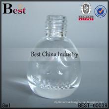 8ml round shape nail bottles; hot sale perfume oil bottles in dubai; best-selling glass bottle in UAE