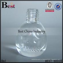 8мл круглой формы ногтей бутылки; горячие продажи духи бутылки масла в Дубай; самое лучшее-продажа стеклянной бутылки в ОАЭ